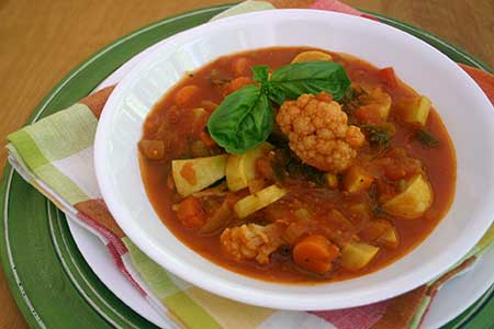 Garden Fresh Vegetable Soup