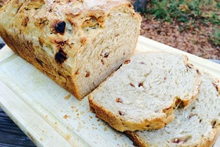 Oatmeal Honey Date Loaf