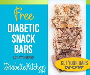 Free Diabetic Kitchen snack bar offer