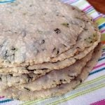 Homemade Corn Tortillas with Greens (gluten-free)
