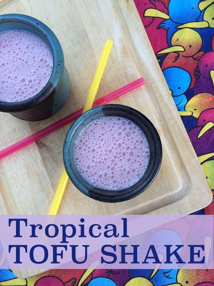 Tropical Tofu Shake - Diabetic Foodie