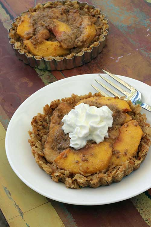 Peach Tartlet (gluten-free)