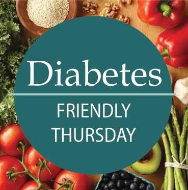 Diabetic Friendly Thursdays logo