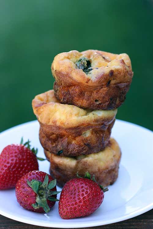 Idaho Potato Frittata Muffins (gluten-free)