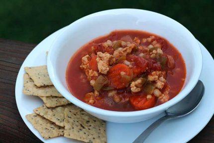 Turkey Barley Vegetable Soup
