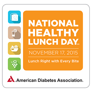 National Healthy Lunch Day - Nov 17, 2015