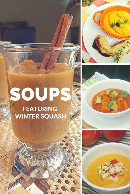 5 Soups featuring Winter Squash