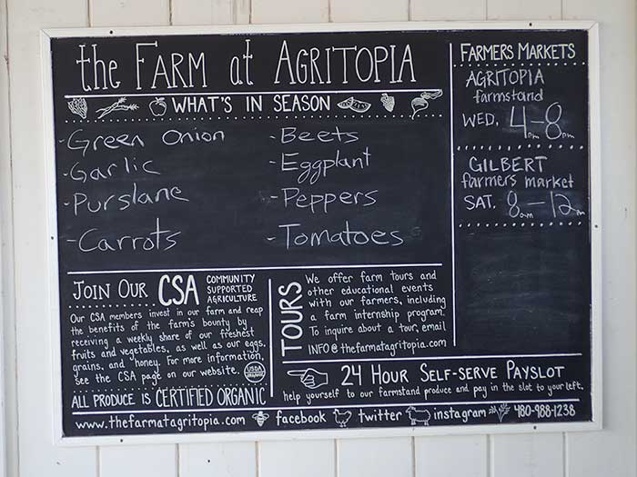 Agritopia farm stand
