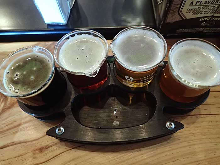 Tasting at Beer Research Institute