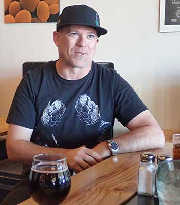 Matt Trethewey at Beer Research Institute