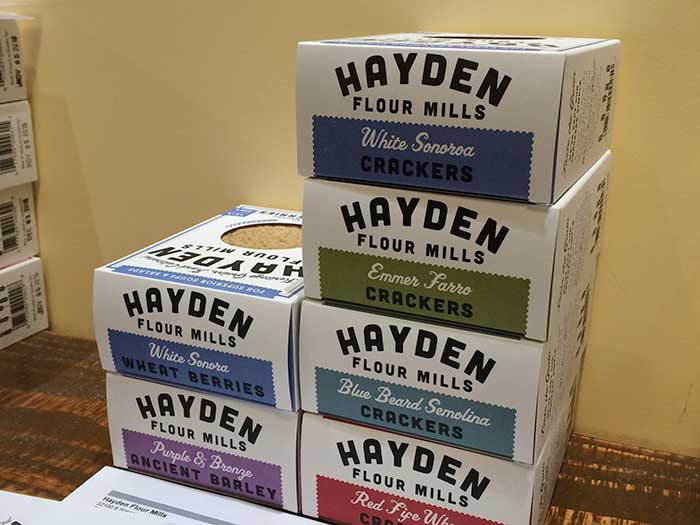 Crackers from Hayden Flour Mills