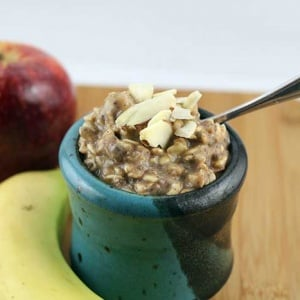 Apple Spiced Overnight Oats