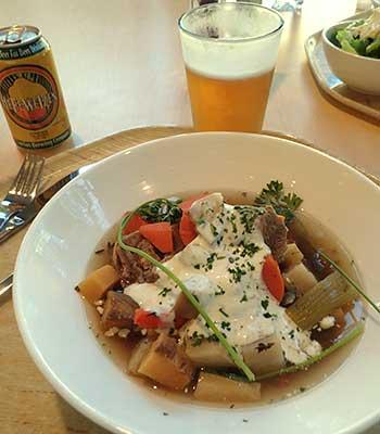 Lamb Stew at Cafe Allegro