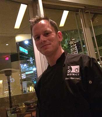 Chef John Marchetti of District