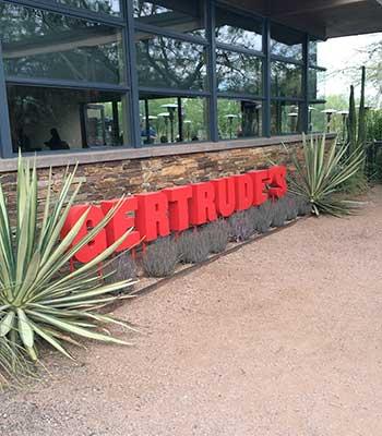 Gertrude's Restaurant in Desert Botanical Garden