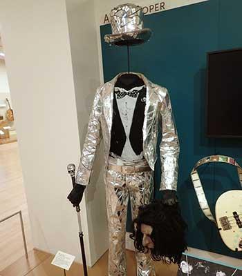 Alice Cooper display at MIM