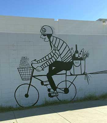 Roosevelt Row mural in Phoenix