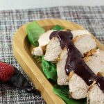 Grilled Turkey Tenderloin with Berry Chipotle Sauce