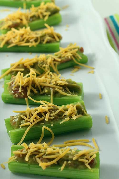 Nacho Celery Sticks
