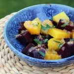 Roasted Beets with Orange Vinaigrette