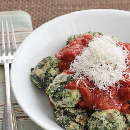 Spinach Dumplings | diabeticfoodie.com