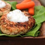 Buffalo Chicken Burger (low-carb)