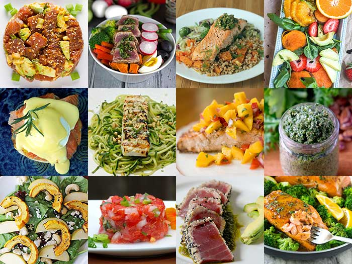 Salmon, Tuna, Halibut and Leafy Greens for Healthy Vision Month