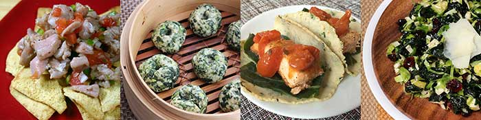 Salmon, Tuna, Halibut & Leafy Green recipes for Healthy Vision Month