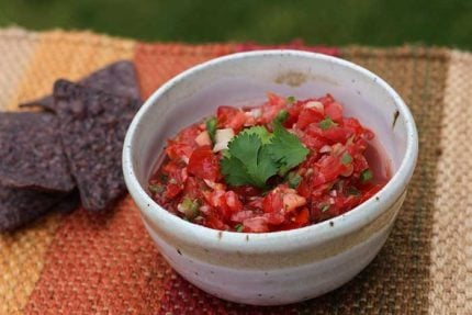 Easy Homemade Low-Sodium Salsa