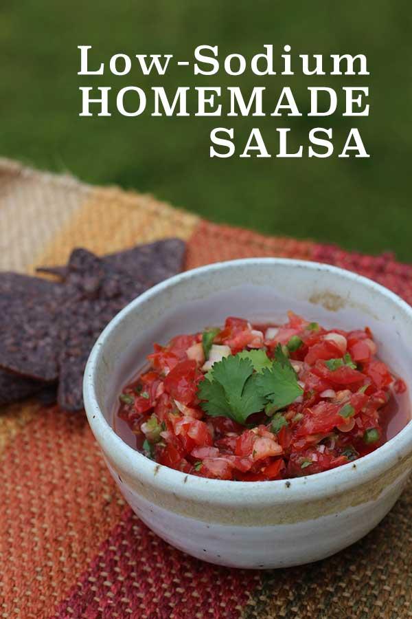 Low sodium easy homemade salsa diabetic foodie low sodium easy homemade salsa diabeticfoodie forumfinder Gallery