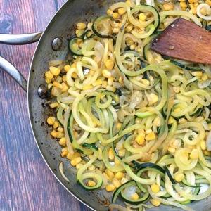Easy Zucchini and Corn Saute