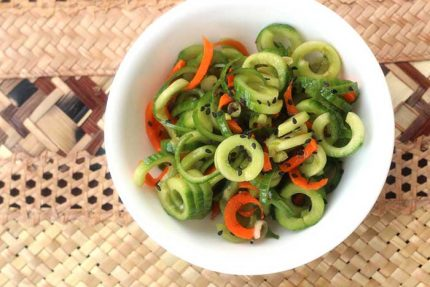 Asian Cucumber Salad