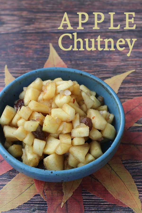 Apple Chutney | diabeticfoodie.com