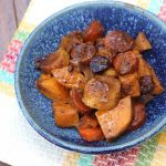 Balsamic Root Vegetables (Slow Cooker)