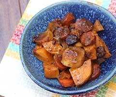 Balsamic Root Vegetables (slow cooker)