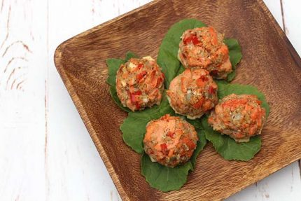 Salmon Meatballs with Quinoa (gluten-free)