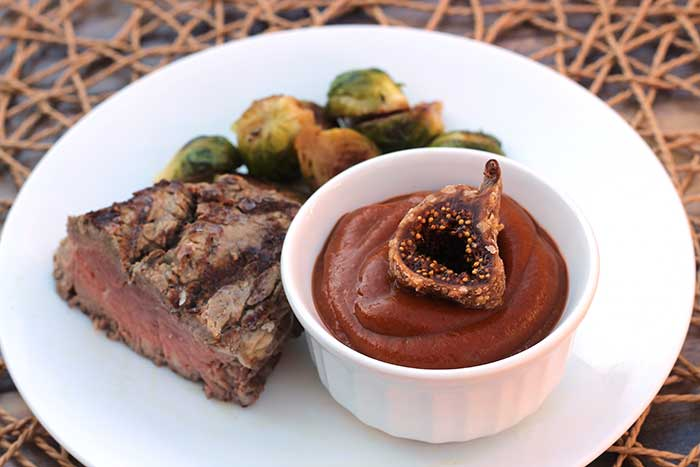 Steak Sauce with Figs and Chiles