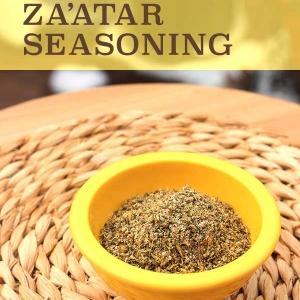Low-Sodium Zaatar Seasoning