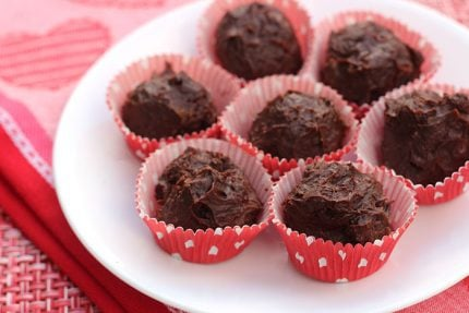 Rum Raisin Truffles with Dark Chocolate