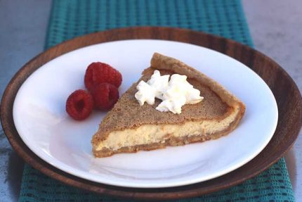 Crustless Custard Pie (Low-Carb)