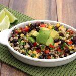 Barley Salad with Black Beans, Avocado, and Corn