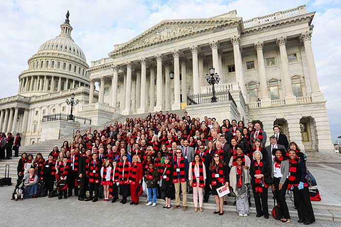 Call to Congress group on Capitol steps