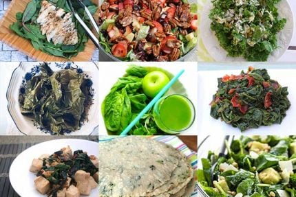 Leafy Greens Recipes for Healthy Vision Month 2017