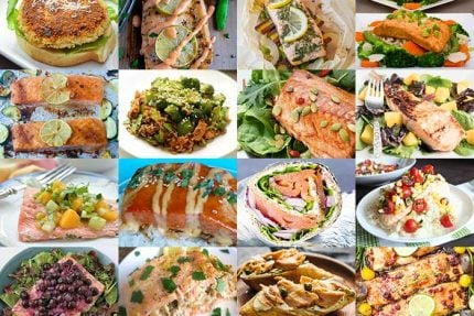 Salmon Recipes for Healthy Vision Month 2017
