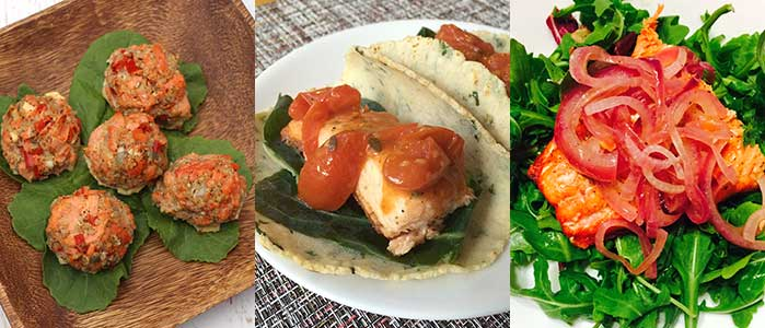 Salmon Recipes for Healthy Vision Month