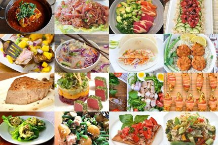 Tuna and Halibut Recipes for Healthy Vision Month