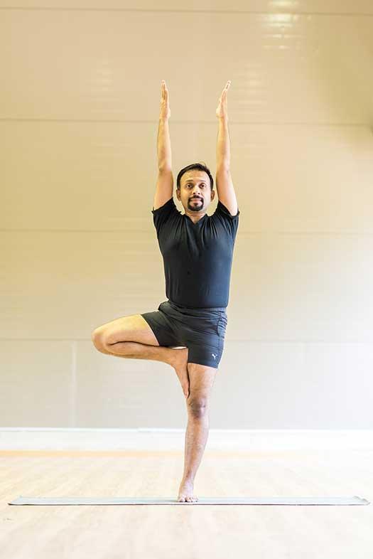 Yoga Pose - Tree