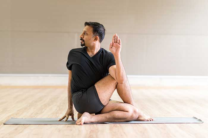 Yoga Pose - Half Twist