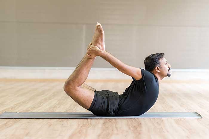 Yoga Pose - Bow
