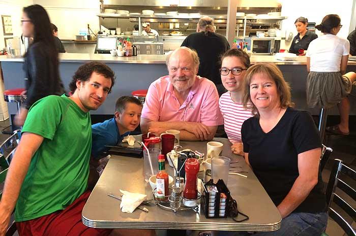 Family in Saint Paul